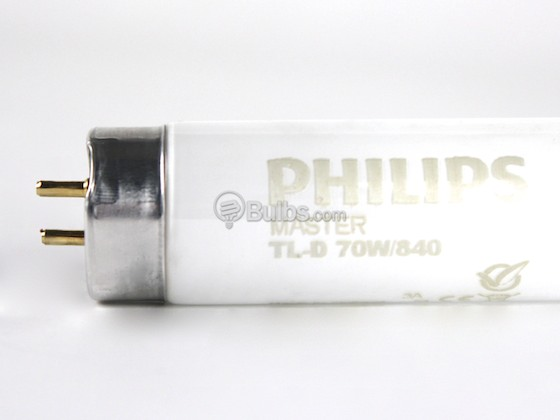 Philips Lighting 615923 40 TL-D Super 80 70W/840 Philips 70W 72in T8 Cool White EUROPEAN Fluorescent Tube