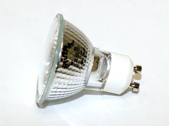 Plusrite FAN3464 JDR50/GU10/WFL50 50W 120V MR16 Halogen Wide Flood Bulb