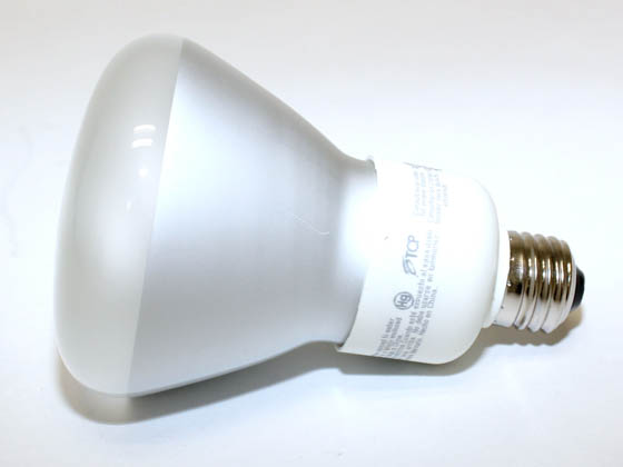 TCP 4R3016TD41K 65 Watt Incandescent Equivalent, 16 Watt, 120 Volt R30 Cool White Dimmable Reflector CFL Bulb.  SEE ADDITIONAL INFORMATION SECTION for CFL Dimming Performance Information.