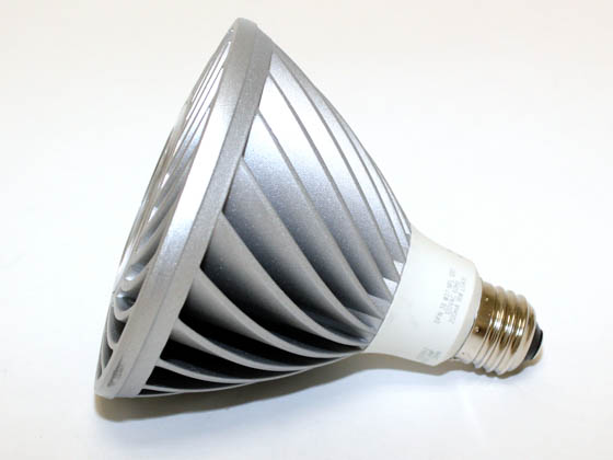 Lighting Science DFN-38-WW-FL 90 Watt Equivalent, 18 Watt, 120 Volt DIMMABLE 3000K Soft White LED PAR38 Bulb