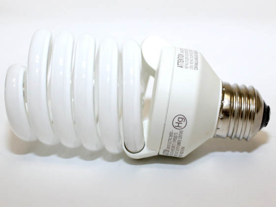 Philips Lighting 414102 EL/mdT2 26W Philips 26W Warm White Spiral CFL Bulb, E26 Base