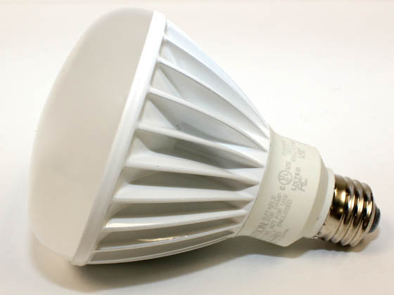 TCP LED11E26BR3027K 11 Watt, 120 Volt DIMMABLE 25,000-Hr LED BR30 Bulb - Similar to Incandescent