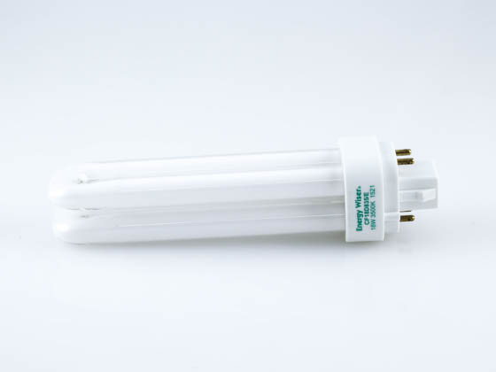 Bulbrite 524238 CF18D835/E 18W 4 Pin G24q2 Neutral White Quad Double Twin Tube CFL Bulb