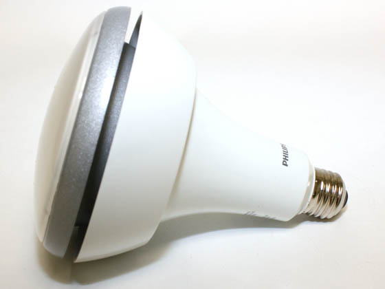 Philips Lighting 420562 14BR40/END/F90 2700 DIM Philips 65 Watt Equivalent, 14.5 Watt, 120 Volt DIMMABLE 25,000-Hr 2700K Warm White LED BR40 Bulb