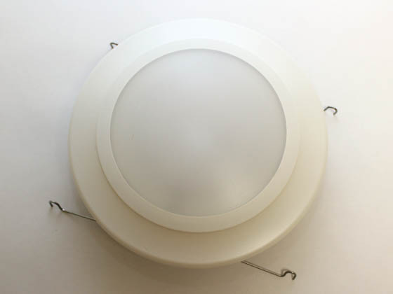 "Lighting Science GLP6-W27-WH-120 14.5 Watt, 65W Halogen Equivalent, DIMMABLE, 2700K, 6"" LED Recessed Downlight"
