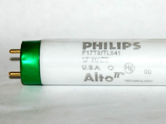 Philips Lighting 281899 F17T8/TL841/ALTO Philips 17 Watt, 24 Inch T8 Cool White Fluorescent Bulb