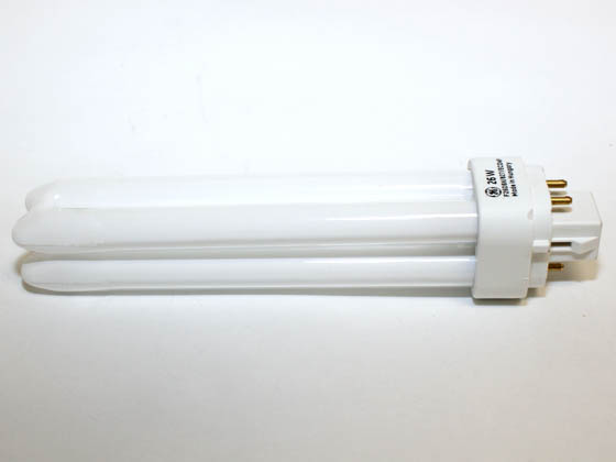 GE GE97610 F26DBX/827/E/ECO4P  (4-Pin) 26W 4 Pin G24q3 Warm White Double Twin Tube CFL Bulb