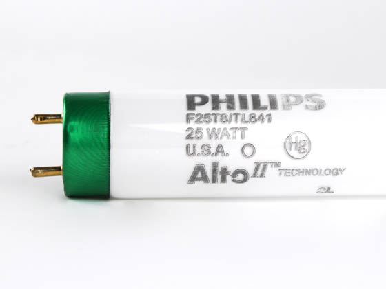 Philips Lighting 281915 F25T8/TL841/ALTO Philips 25W 36in T8 Cool White Fluorescent Tube