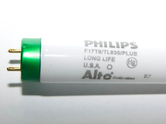 Philips Lighting 280941 F17T8/TL835/PLUS/ALTO Philips 17W 24in T8 Neutral White Fluorescent Tube