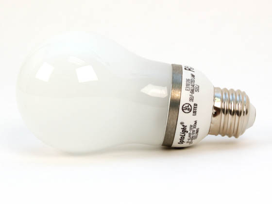 OptoLight 000477 OP-ALAMP-18W 75 Watt Incandescent Equivalent, ENERGY STAR Qualified.  18 Watt, 120 Volt A-Style CFL Bulb