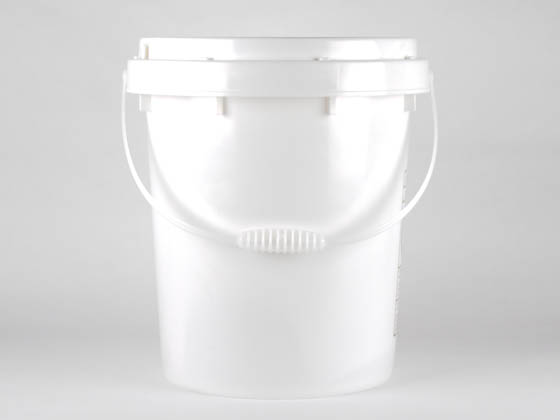 Complete Recycling Solutions PKG903 RC Battery Pail/Container 5-Gallon Dry Cell Battery Recycling Bucket