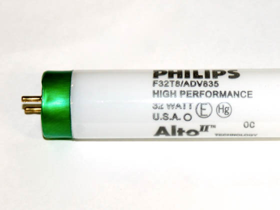 Philips Lighting 280818 F32T8/ADV835/ALTO 32W Philips 32W 48in T8 High Lumen Neutral White Fluorescent Tube