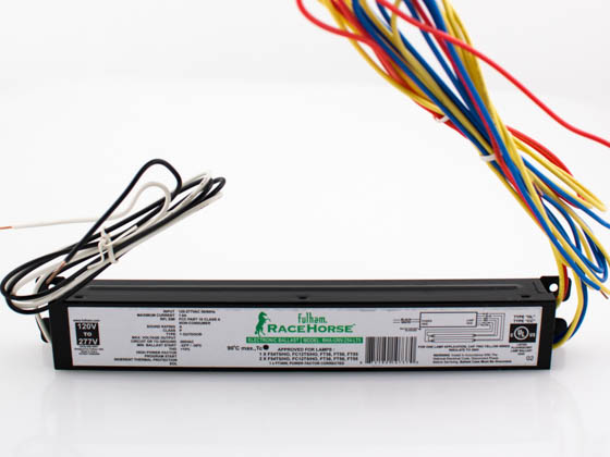 Fulham RHA-UNV-254-LT5 RaceHorse T5HO Fluorescent Electronic Ballast, With Leads