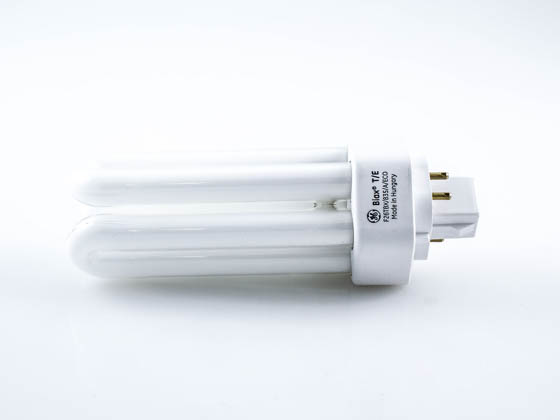 GE GE97616 F26TBX/835/A/ECO 26W 4 Pin GX24q3 Neutral White Triple Twin Tube CFL Bulb