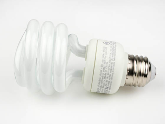 TCP TEC801019 TCP 801019 19W Warm White Spiral CFL Bulb, E26 Base
