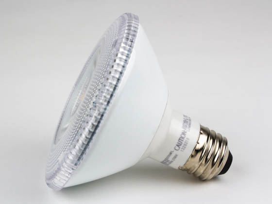 TCP LED12P30SD27KNFL Dimmable 10W 2700K 25° PAR30S LED Bulb, Wet Rated
