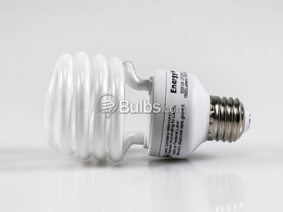 Bulbrite 509124 CF23SD/LM 23W 120V Bright White Spiral CFL Bulb, E26 Base