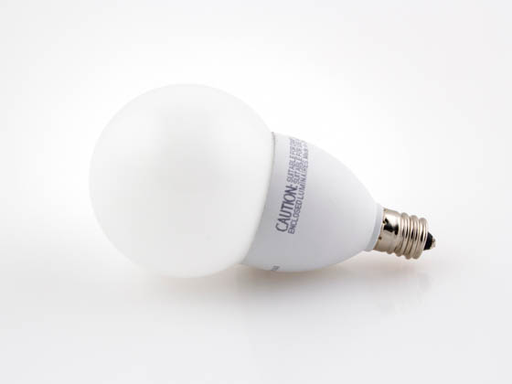 TCP LED4E12G1627KF Dimmable 4W 2700K G-16 Globe Frosted LED Bulb, E12 Base