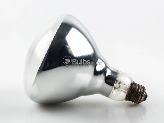 Philips Lighting 416750 (Safety) 125BR40/1 (120V) Philips 125W Safety Coated BR40 Heat Lamp E26 Base