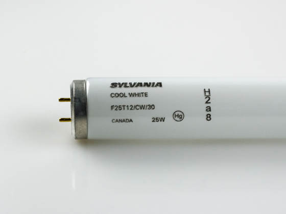 Sylvania 22528 F25T12/CW/30 25W 30in T12 Cool White Fluorescent Appliance Tube