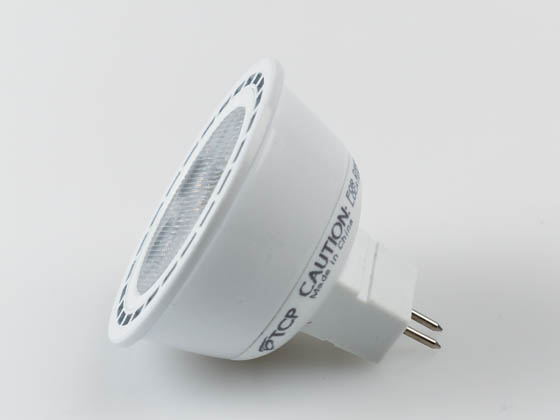 TCP LED712VMR16V27KFL Dimmable 7W 2700K 40° MR16 LED Bulb, GU5.3 Base