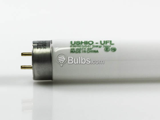 Ushio 3000622 F28T8ES/841 28W 48in T8 Cool White Fluorescent Tube