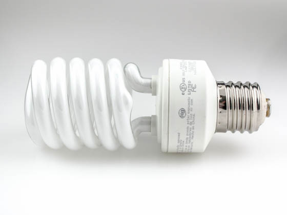TCP TEC28942H277-65 28942H27765K 42W 277V Daylight White Spiral CFL Bulb, E39 Base