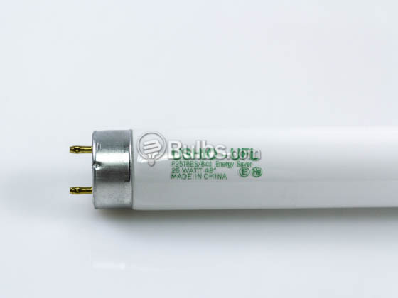 Ushio 3000619 F25T8ES/841 25W 48in T8 Cool White Fluorescent Tube