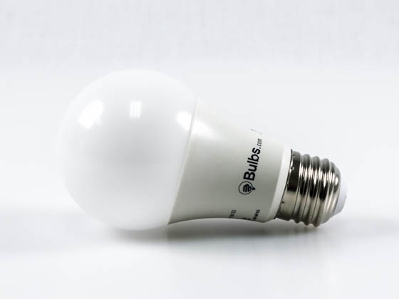 Bulbs.com 260020 A19 120V 9W 60WE E26 DIM 2700K ES Dimmable 9 Watt 2700K A-19 LED Bulb