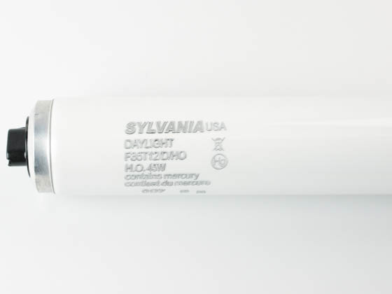 Sylvania 25332 F36T12/D/HO 45W 36in T12 High Output Daylight White Fluorescent Tube