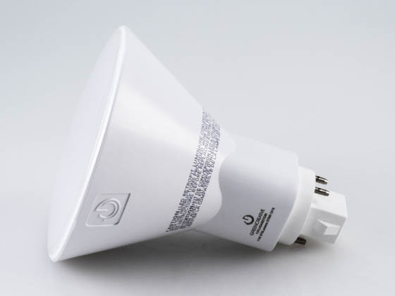 Green Creative 97669 11PLVG4/827/DIR 11W 4 Pin Vertical 2700K G24q LED Bulb, Uses Existing Ballast