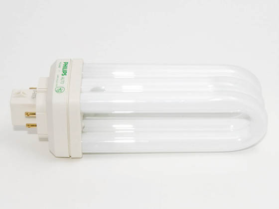 Philips Lighting 458307 PL-T 32W/35/4P/ALTO  (4-Pin) Philips 32W 4 Pin GX24q3 Neutral White Long Triple Twin Tube CFL Bulb