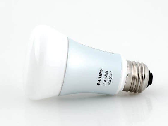 Philips Lighting 456186 Philips Hue 10W A19 E26 NAM Philips Hue Dimmable White & Color 10W A19 Single LED Bulb