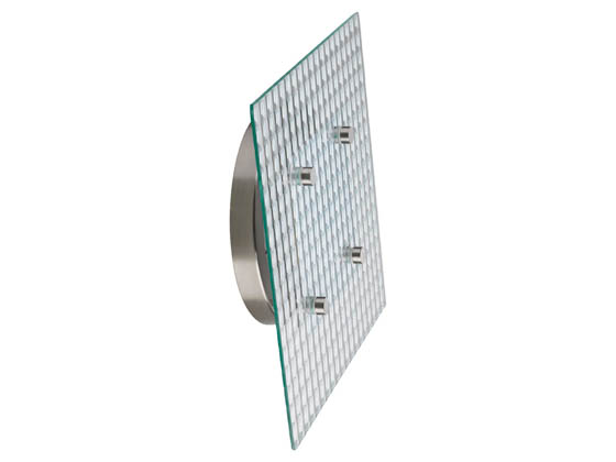 Progress Lighting P2306-0930K9 LED Square Wall or Ceiling Mount Fixture