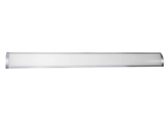 "Energetic Lighting ELYWL-301C Non-Dimmable 40W 48"" 4000K Flushmount Wrap LED Fixture"