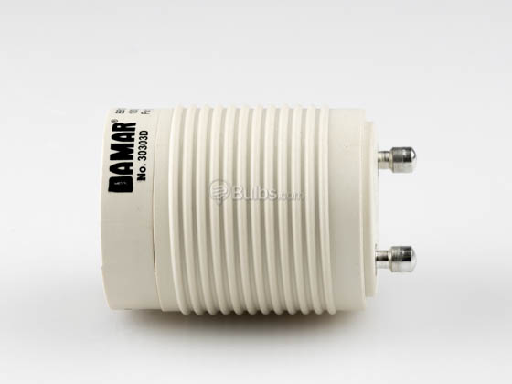 Self Ballasted Gu24 Adapter For 13 Watt Plug In Cfl Gu24