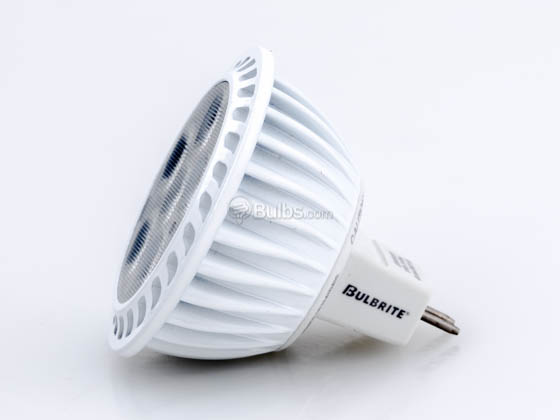Bulbrite 771091 LED7MR16NF/930/D Dimmable 7.7W 90 CRI 3000K 25° MR16 LED Bulb, GU5.3 Base