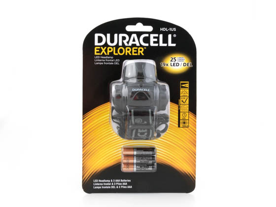 Duracell HDL-1US Explorer Series LED Headlamp