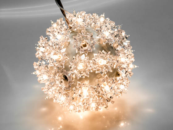 "Sival, Inc. STRWWH6TWK Sival Twinkling Starlight Sphere Ornament - 6"" 50 Clear lights"