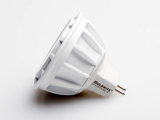 Bulbrite 771303 LED8MR16FL35/50/827/D Dimmable 8W 2700K 35° MR16 LED Bulb, GU5.3 Base