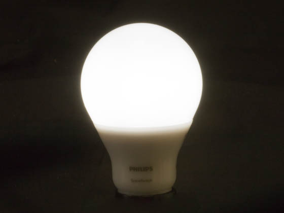 Philips Lighting 464973 9.5A19/LED/850/ND SSDL 120V Philips Non-Dimmable 9/3/1 Watt 5000K SceneSwitch A-19 LED Bulb