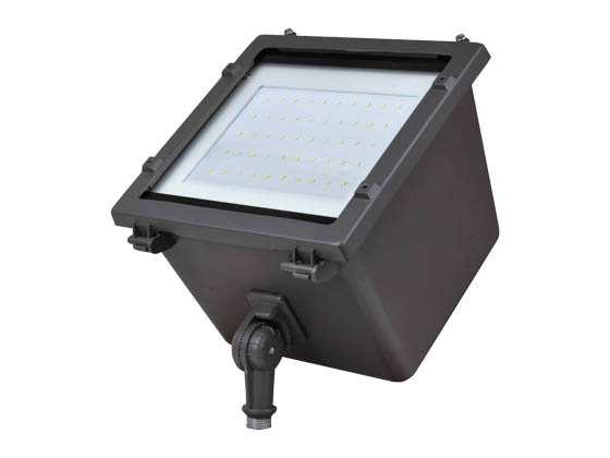 NaturaLED 7179-P10036 LED-FXFDL29/40K/DB-KNC-P10036 29 Watt 4000K LED Flood Light Fixture With Photocell