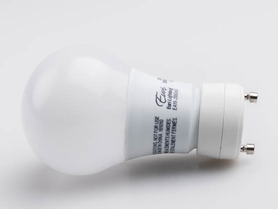 Euri Lighting EA19-2000eG EBA19DM/B/8.5W/800/230D/30K/GU24/E Dimmable 8.5W 3000K A19 LED Bulb, GU24 Base