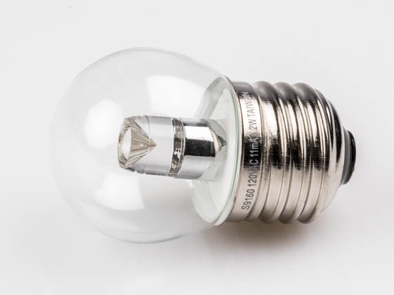 Satco Products, Inc. S9160 1.2W S11/CL/LED/120V/CD Satco 1.2 Watt Clear S11 LED Bulb