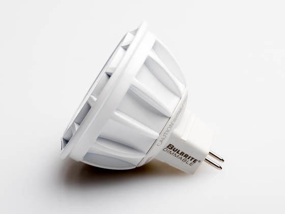 Bulbrite 771309 LED8MR16NF25/50/850/D Dimmable 8W 5000K 25° MR16 LED Bulb, GU5.3 Base, Rated For Enclosed Fixtures