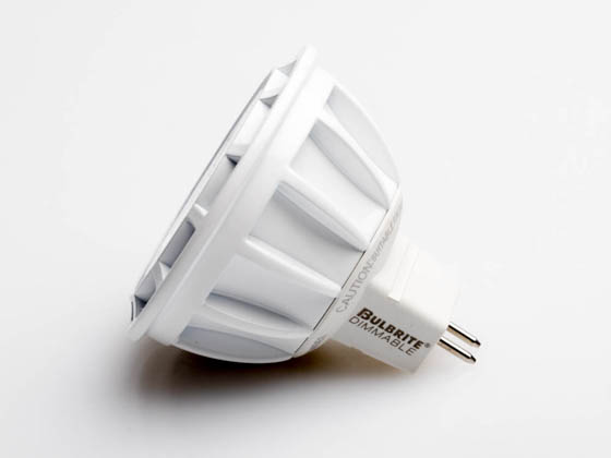 Bulbrite 771337 LED9MR16FL35/75/930/D Dimmable 9W 3000K 35° MR16 LED Bulb, GU5.3 Base, Enclosed Rated
