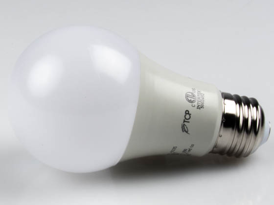 TCP LED9A19D27K Dimmable 9 Watt 2700K A-19 LED Bulb, Enclosed Rated
