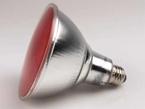 Philips Lighting 469106 13.5PAR38/RED/FLOOD/ND ULW Philips Non-Dimmable 13.5W Red 40° PAR38 LED Bulb, Outdoor Rated