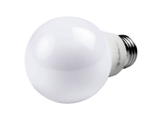 Bulbs.com Bulbs.com LED A19 Bucket LED Contractor Pack. 8.5 Watt Non-Dimmable 2700K A-19 LED Bulb (Pack of 60), Includes Bucket