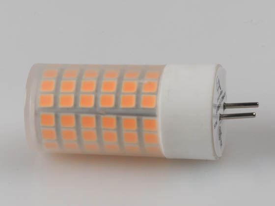 EmeryAllen EA-GY6.35-5.0W-001-279F Dimmable 5W 12V 2700K JC LED Bulb, GY6.35 Base, Enclosed Rated